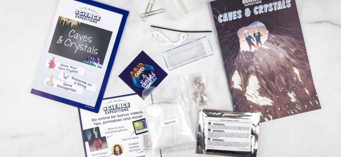 Little Passports Science Expeditions Subscription Box Review – Caves & Crystals