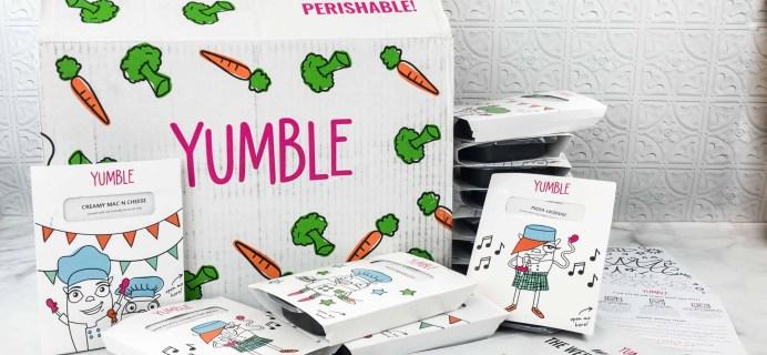 Yumble Kids April 2018 Subscription Box Review + Coupons!