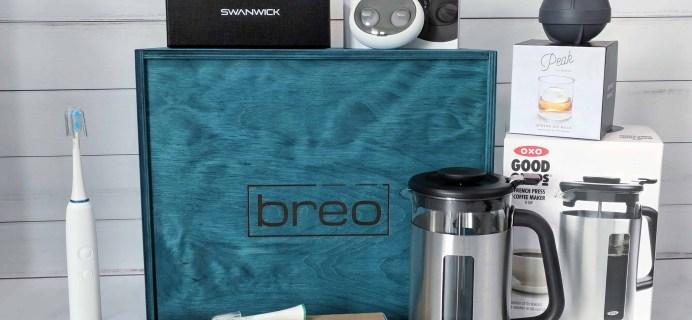 Breo Box Subscription Box Review + Coupon – Spring 2018