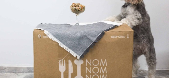 Nom Nom Fresh Dog Food Box Review & 20% Off Coupon