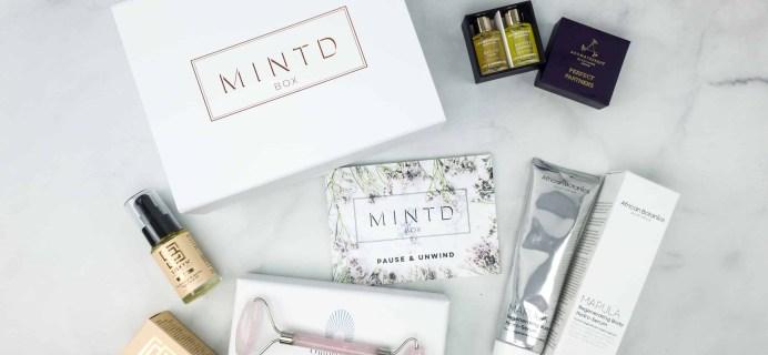 MINTD Box April 2018 Subscription Box Review + Coupon!
