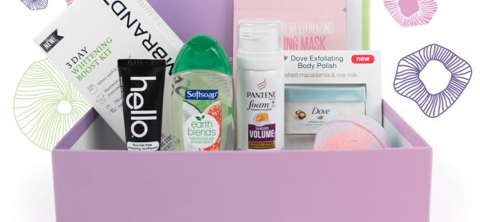 Spring 2018 Walmart Beauty Box Trendsetter & Classic Box Full Spoilers!