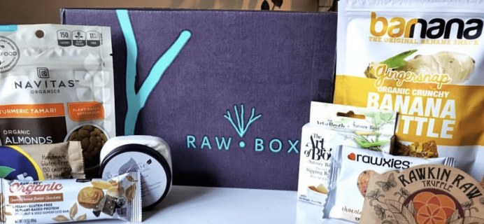 RawBox Earth Day Flash Sale: Get 50% Off Your First Box!