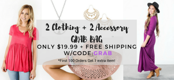 Cents of Style Jewelry Clothing + Accessories Grab Bag Available Now + Coupon!