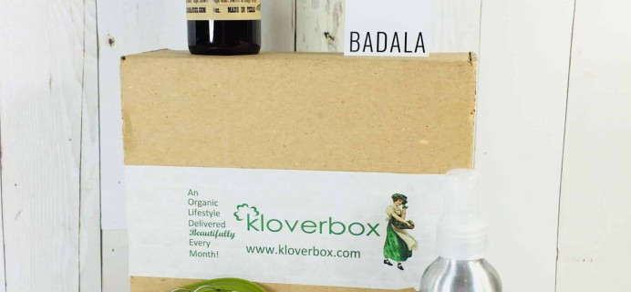 Kloverbox April 2018 Subscription Box Review & Coupon