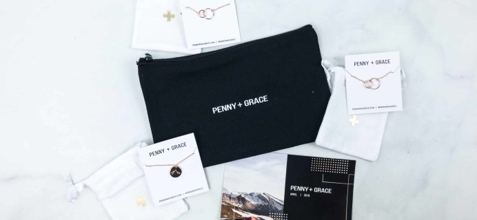 Penny + Grace April 2018 Subscription Box Review
