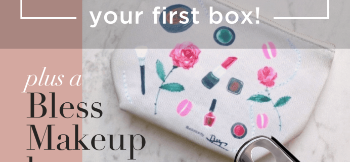 Bless Box Coupon: Get 25% Off + Freebies + Free Shipping!