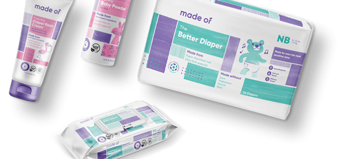 New Subscription Box: Made Of Diaper Subscription Coming Soon + $20 Coupon!
