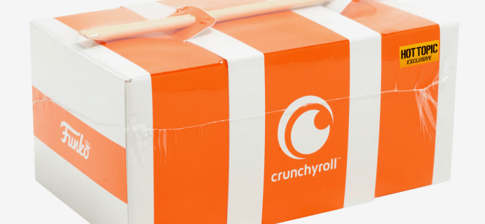 New Hot Topic Exclusive Crunchyroll Funko Collectible Box Available Now!