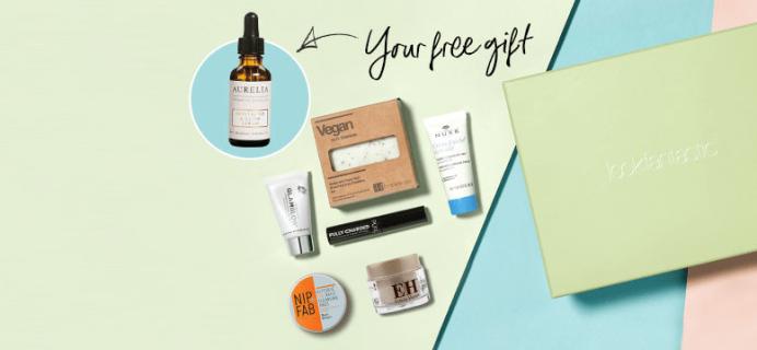 Look Fantastic Beauty Box April Coupon: Get A FREE Aurelia Probiotic Skincare Revitalise & Glow Serum!