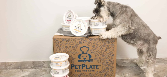 PetPlate Fall Sale Coupon: Get 65% Off First Box!