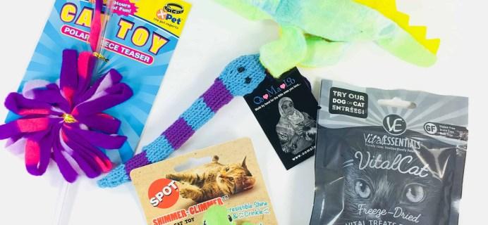 PetGiftBox April 2018 Cat Subscription Box Review + 50% Off Coupon
