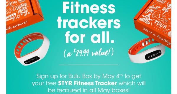 Bulu Box Promo: Get A Free STYR Fitness Tracker!