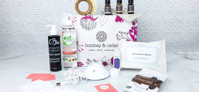 Bombay & Cedar Subscription Box Review + Coupon – April 2018