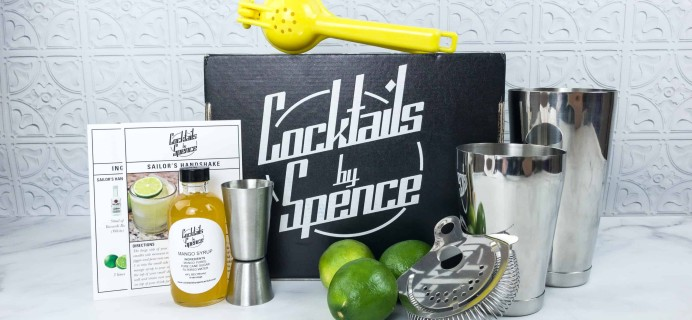 Cocktails By Spence Club April 2018 Subscription Box Review + Coupon