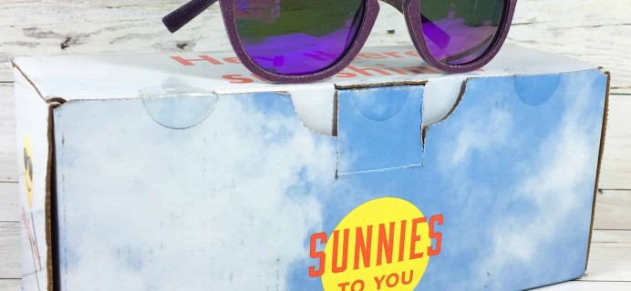 Sunnies To You April 2018 Subscription Box Review + Coupon!