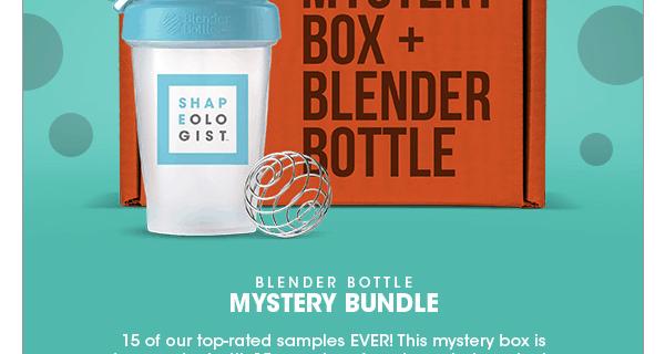 Bulu Box Mystery Box + Blender Bottle Available Now!
