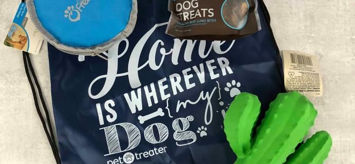 Pet Treater Dog Box Mini Subscription Box Review + Coupon – April 2018