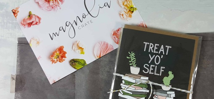 Magnolia Crate Subscription Box Review & Coupon – March 2018