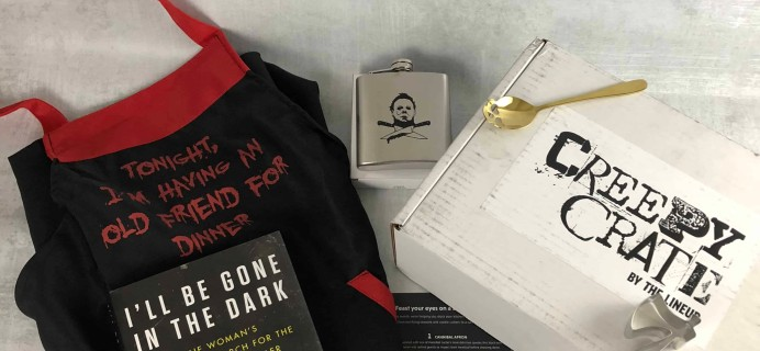Creepy Crate April 2018 Subscription Box Review + Coupon