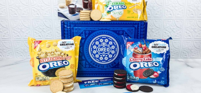 OREO Cookie Club May 2018 Subscription Box Review