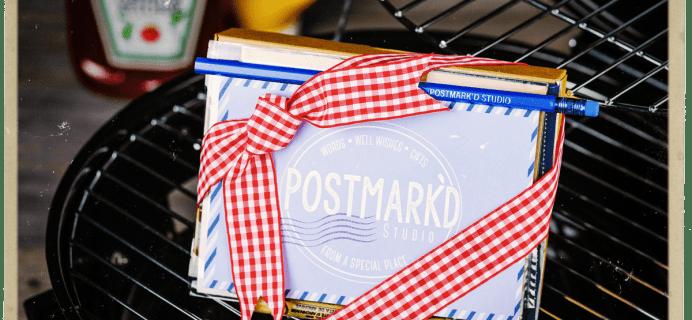 Postmark'd Studio PostBox June 2018 Spoiler #2 + Coupon!