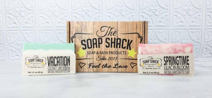 The Soap Shack Soap Club April 2018 Subscription Box Review + Coupon