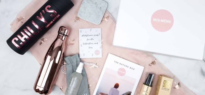 Moi-Même Spring 2018 Subscription Box Review – The Nature Box