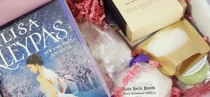Bubbles & Books Subscription Box Review + Coupon – March 2018