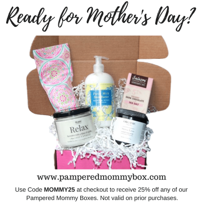 Pampered Mommy Mother's Day Deal: 25% Off All Boxes!