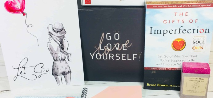 Go Love Yourself May 2018 Subscription Box Review + Coupon
