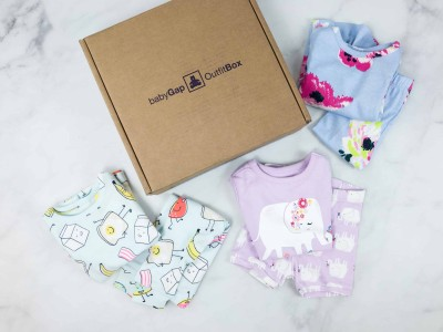 babyGap BedtimeBox Spring 2018 Subscription Box Review