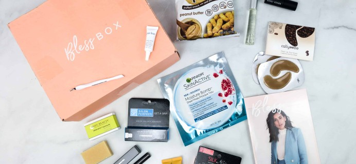 Bless Box April 2018 Subscription Box Review & Coupon