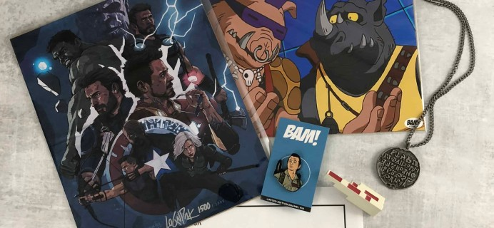 The BAM! Box March 2018 Subscription Box Review & Coupon