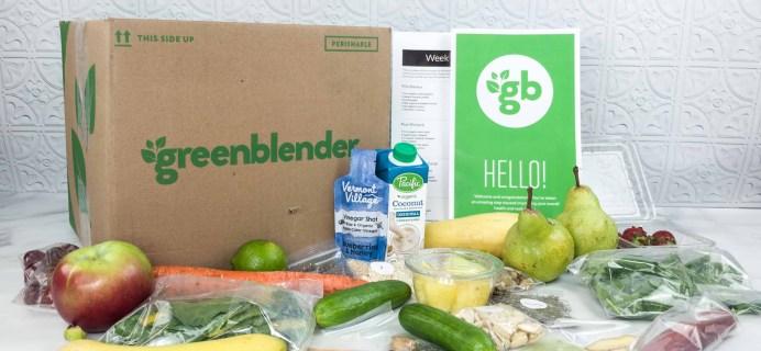 Green Blender May 2018 Subscription Box Review + Coupon