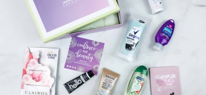 Walmart Beauty Box Spring 2018 Review – Classic Box