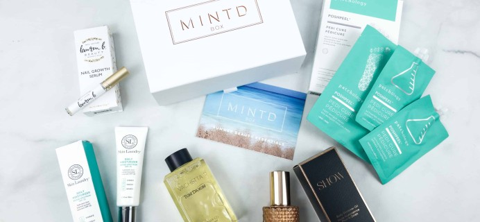MINTD Box May 2018 Subscription Box Review + Coupon!