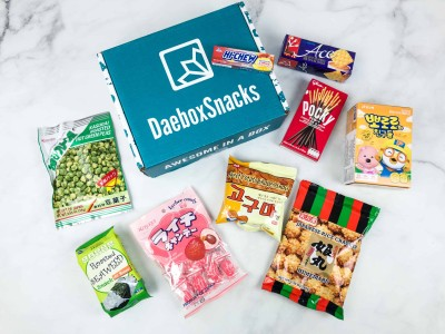 DaeboxSnacks May 2018 Subscription Box Review + Coupon