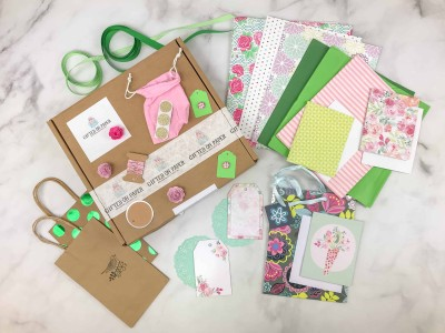 Gifted On Paper April 2018 Subscription Box Review + Coupon