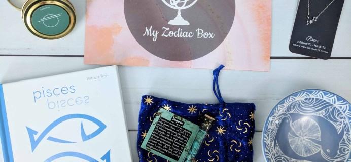My Zodiac Box Subscription Box Review & Coupon – May 2018