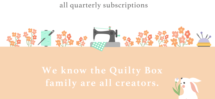 Quilty Box Mother's Day Deal: Get $10 Off Your First Box!