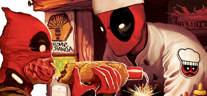 Deadpool Club Merc June 2018 FULL Spoilers!