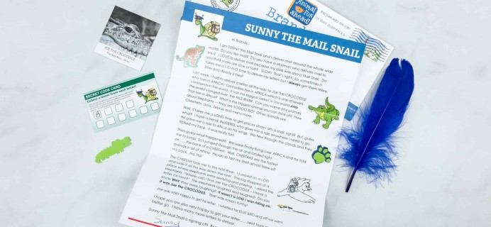 Snail Mail for Kids May 2018 Subscription Box Review