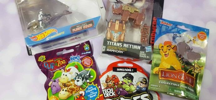 Toy Box Monthly April 2018 Subscription Box Review