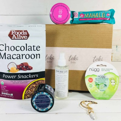 TokiBox May 2018 Subscription Box Review + Coupon