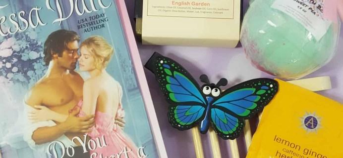 Bubbles & Books Subscription Box Review + Coupon – April 2018