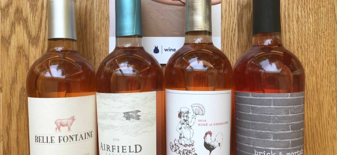 Blue Apron Wine Subscription Box Review – May 2018
