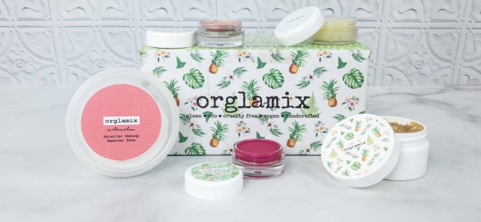 Orglamix April 2018 Subscription Box Review & Coupon