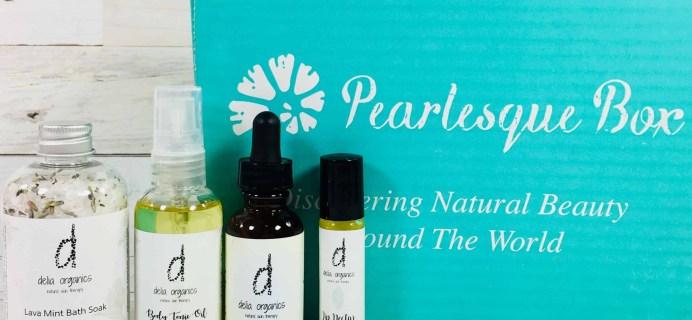 Pearlesque Box May 2018 Subscription Box Review + Coupon