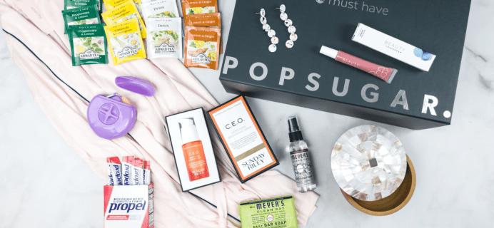 POPSUGAR Must Have Box Summer 2018 Giveaway!